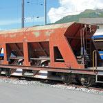 Schweizer Eisenbahnen RhB Güterwagen Fac - 8704