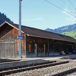 Schweizer-Eisenbahnen - Bahnhof Boltigen