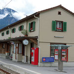Schweizer-Eisenbahnen Bahnhof Cazis