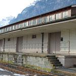Schweizer-Eisenbahnen - Bahnhof Nieder- und Oberurnen