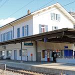 Schweizer-Eisenbahnen - Bahnhof Solothurn West