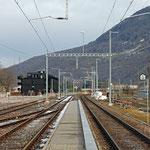 Schweizer-Eisenbahnen Bahnhof Nieder- und Oberurnen