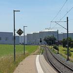 Schweizer-Eisenbahnen - Bahnhof Tägerschen