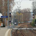 Schweizer-Eisenbahnen Bahnhof Rorschach Hafen