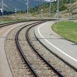 Schweizer-Eisenbahnen - Bahnhof Bernina Suot