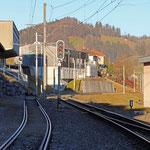 Schweizer-Eisenbahnen - Bahnhof Urnäsch