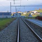 Schweizer-Eisenbahnen Bahnhof Diesbach-Betschwanden