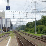 Schweizer-Eisenbahnen - Bahnhof Märstetten
