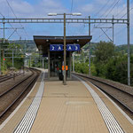 Schweizer-Eisenbahnen - Bahnhof Neuhausen