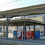Schweizer-Eisenbahnen - Bahnhof Seuzach