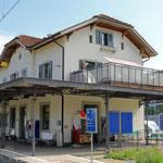 Schweizer-Eisenbahnen - Bahnhof Feuerthalen