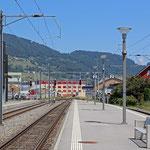 Schweizer-Eisenbahnen - Bahnhof Altstätten SG