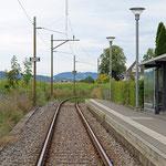 Schweizer-Eisenbahnen - Bahnhof Gelfingen