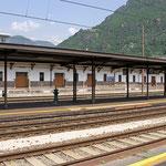 Bilder Bahnhof Bozen (Aufnahme vom Mai 2014)