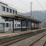 Schweizer-Eisenbahnen Bahnhof Wettingen