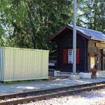 Schweizer-Eisenbahnen Bahnhof Cadera