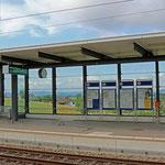 Schweizer-Eisenbahnen - Bahnhof Marthalen
