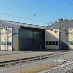 Schweizer-Eisenbahnen Bahnhof Samstagern