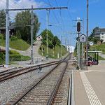 Schweizer-Eisenbahnen - Bahnhof Bettwiesen