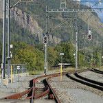 Schweizer-Eisenbahnen Bahnhof Haldenstein
