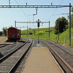 Schweizer-Eisenbahnen - Bahnhof Ossingen