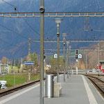 Schweizer- Eisenbahnen Bahnhof Schwanden
