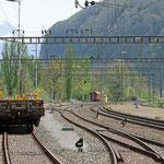 Schweizer-Eisenbahnen - Bahnhof Weesen