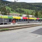 Bilder Bahnhof Innichen (Aufnahme vom Mai 2014)