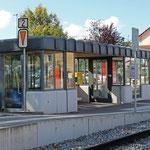 Schweizer-Eisenbahnen - Bahnhof Münchwilen Pflegeheim