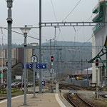 Schweizer-Eisenbahnen Bahnhof Winterthur Grüze