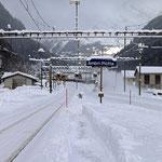 Schweizer-Eisenbahnen Bahnhof Ambri-Piotta