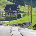 Schweizer Eisenbahnen - Bahnhof Zürchersmühle