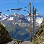 Schweizer- Eisenbahnen Bahnhof Schynige Platte
