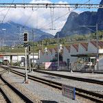 Schweizer-Eisenbahnen - Bahnhof Untervaz-Trimmis