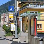 Schweizer-Eisenbahnen Bahnhof Le Prese