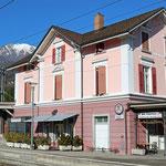 Schweizer-Eisenbahnen Bahnhof Tenero