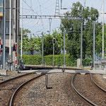 Schweizer-Eisenbahnen - Bahnhof Rorschach Hafen