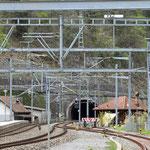 Schweizer-Eisenbahnen - Bahnhof Mühlehorn