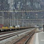 Schweizer-Eisenbahnen - Bahnhof Lavorgo