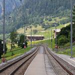 Schweizer-Eisenbahnen Bahnhof Sumvitg-Cumpadials