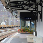 Schweizer-Eisenbahnen Bahnhof Lavorgo
