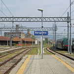 Bilder Bahnhof Bergamo (Aufnahme vom Mai 2015)