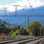 Schweizer-Eisenbahnen Bahnhof Untervaz-Trimmis