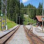 Schweizer-Eisenbahnen - Bahnhof Cavadürli