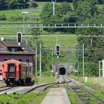 Schweizer-Eisenbahnen - Bahnhof Embrach-Rorbas
