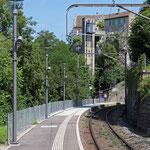 Schweizer- Eisenbahnen Bahnhof Schloss Laufen am Rheinfall