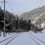 Schweizer-Eisenbahnen Bahnhof Trin