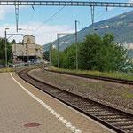 Schweizer-Eisenbahnen - Bahnhof Därligen