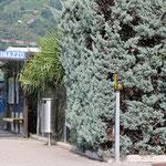 Schweizer-Eisenbahnen Bahnhof Bioggio Molinazzo