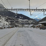Schweizer-Eisenbahnen - Bahnhof Ambri-Piotta